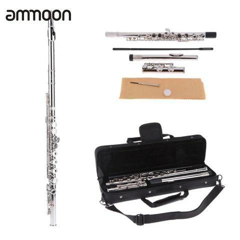 Flauta Transversal Em Dó Ammoon Slade - Foto 3
