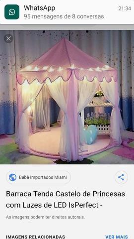 Tenda barraca de princesa