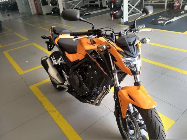 Cb500f 2019/2019 moto zero só tem 180km - Foto 4