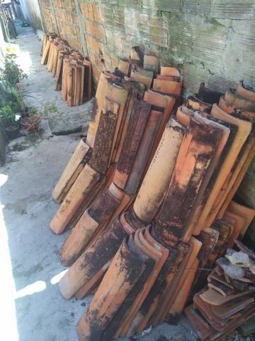 Doação de telha cerâmica usada