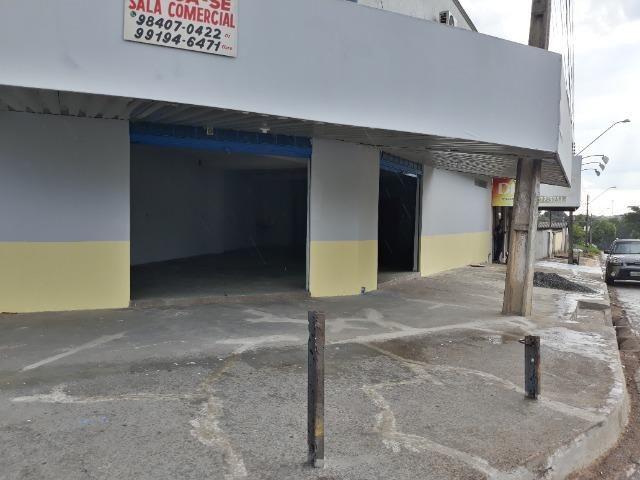 Sala comercial ampla setor cidade satélite sao luiz - Foto 5
