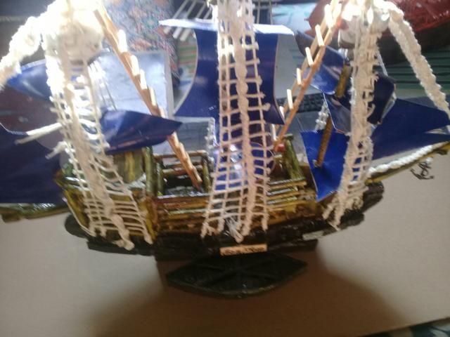 Barcos decorativos artesanais - Foto 3