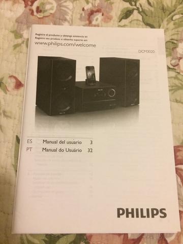 Mini system Philips 120W com Docking Apple - Foto 4