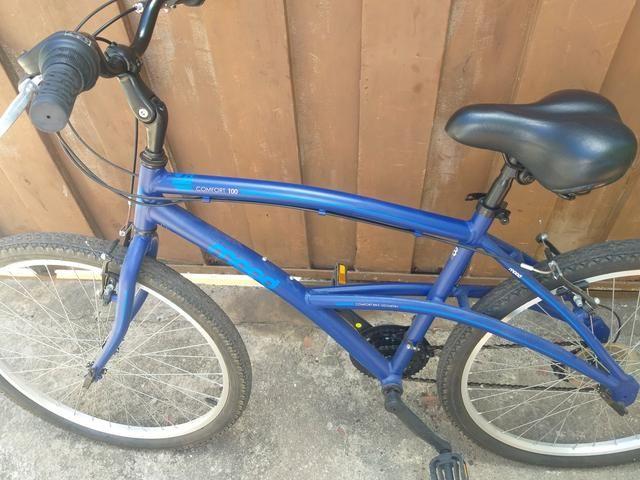 Bicicleta muito boa 1 mês de uso 600 reais - Foto 2