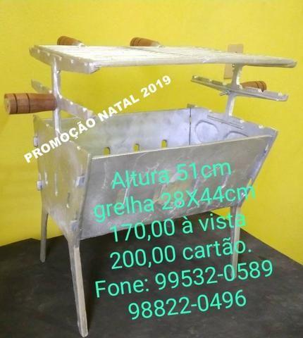 Churrasqueira de aluminio - Foto 4
