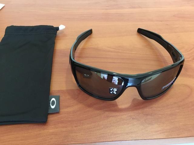 Óculos Oakley Turbine prizm polarizado - Bijouterias, relógios e ... 85dda3555f