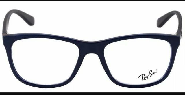 c7a2a814748f0 Armação óculos grau Ray Ban azul fosco - Bijouterias, relógios e ...