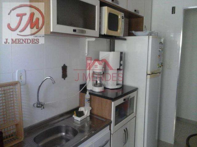 Apartamento com 2 dorms, Aviação, Praia Grande - R$ 265.000,00, 80m² - Codigo: 617... - Foto 6