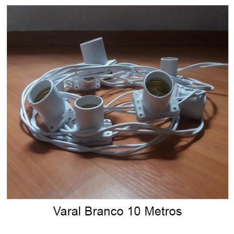 Varal 10 Metros 10 Soquetes - Foto 4