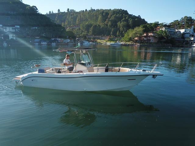 Lancha Fishing 265 - Mercruiser 5.0 V8 gasolina - Impecável - Foto 3