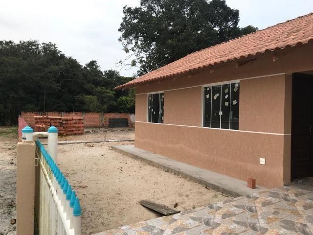 Excelente casa nova com amplo terreno