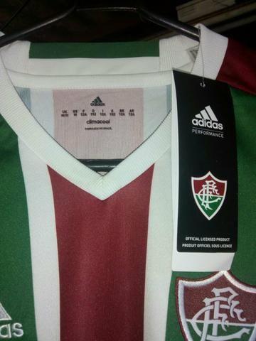 Blusa do Fluminense infantil 12 Anos Leia a descrição - Artigos ... f9fe10e2d43a6