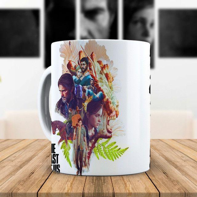 The Last Of Us Caneca Personalizada Com Nome Fazemos Alterações na Arte - Foto 2