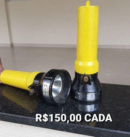 Adaptador / descarga selada e lanterna anti explosão  - Foto 6