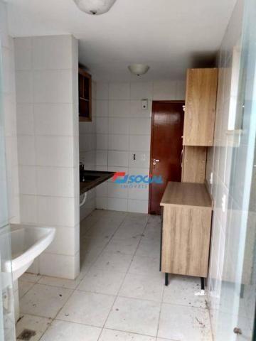 Apartamento TÉRREO com 3 dormitórios. Cond. Brisas do Madeira - Rio Madeira - Porto Velho/ - Foto 12
