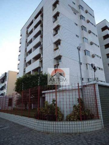 Apartamento com 3 dormitórios à venda, 115 m² por R$ 400.000 - Jardim Atlântico - Olinda/P