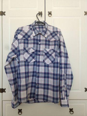 Camisas Xadrez Tam G - Kit com 3 - Ótimo Estado - Foto 6