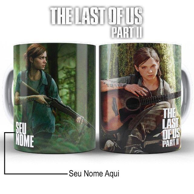 The Last Of Us Caneca Personalizada Com Nome Fazemos Alterações na Arte - Foto 5