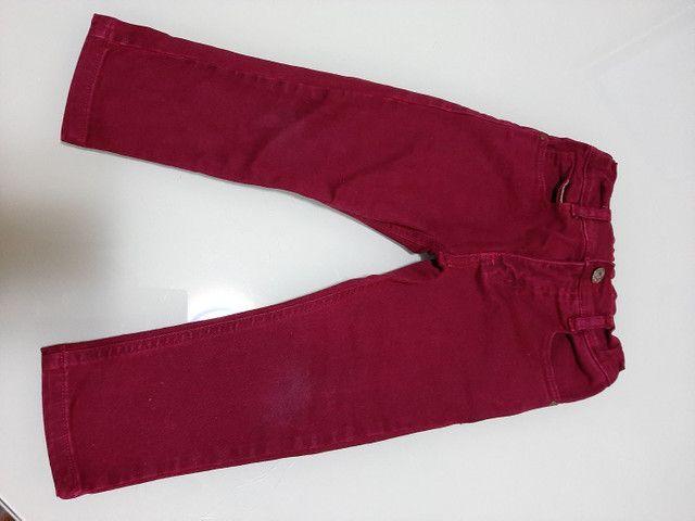 Calça/Bermuda Jeans Infantil menino 2 anos *ACEITO CARTÃO* - Foto 3