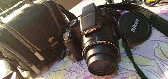 Camera digital nikon p90 em otimo estado - Foto 2