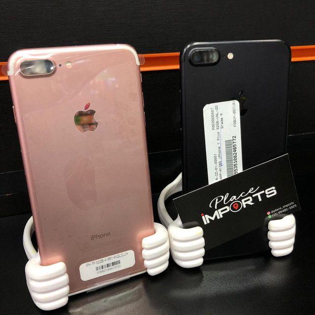 iPhone 7 Plus 128gb, loja física e procedência