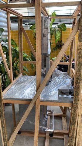 Serra fita para carnes e ossos em inox - açougues - supermercados - Foto 4