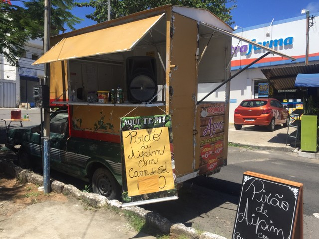 FoodTruck  em Carro PAMPA