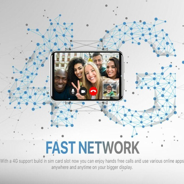 Relógio Inteligente  2,86 polegadas 3GB 32GB lcd 2700mAh  Android 7.1 4G Phone Smartwatch - Foto 4