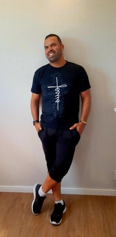 "Camisetas Evangélicas ""JESUS"" - Foto 4"
