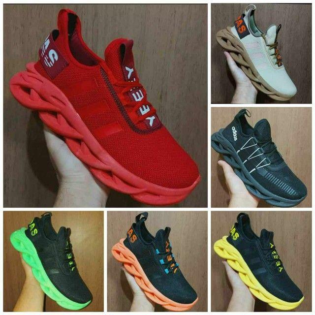 Sapato Nike,Adidas e 12 molas  - Foto 2