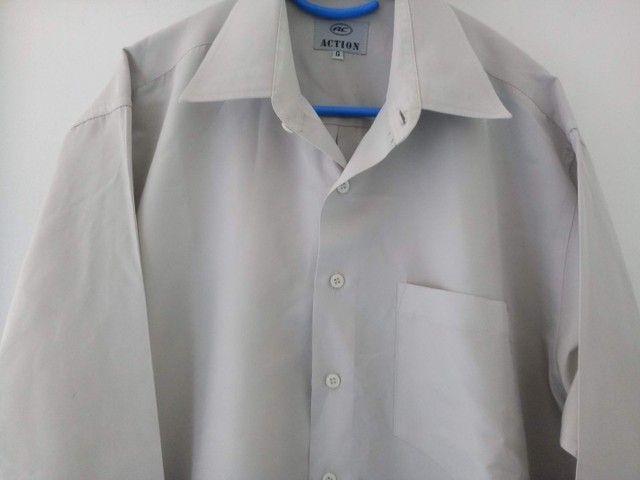 Camisa social action G
