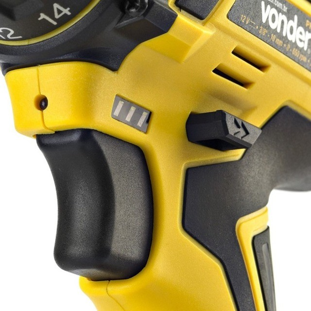 Parafusadeira a Bateria 12V Com Maleta e Acessórios Vonder Oferta Por Tempo Limitado - Foto 3