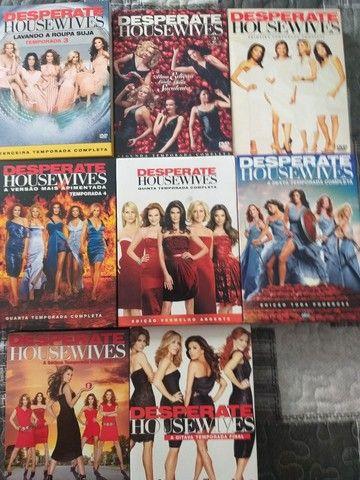 Coleção de dvd do seriado Desperate housewaives