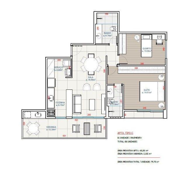 Apartamento novo com 2 quartos em São Pedro da Aldeia - Foto 10