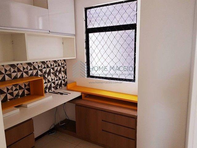 Apartamento para venda com 88 metros quadrados com 3 quartos em Farol - Maceió - AL - Foto 12