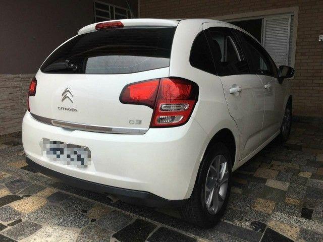 Citroën C3 1.5 Flex. Manual 05 Marchas Tendance 2014. Multimídia BVA e GPS integrado - Foto 12