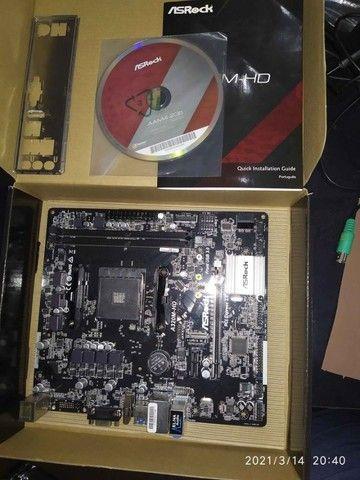 Super PC Ryzen 5 2600 RX 570 Aorus 16gb SSD 256gb - Foto 6