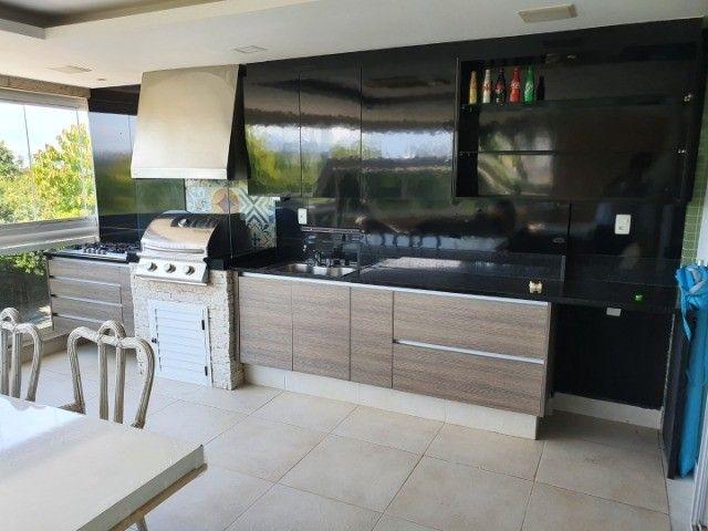 Recreio (Gleba A) - Luxuoso 3 Quartos com 2 Vagas e Varanda Gourmet - Foto 2
