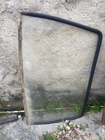 Suspensão traseira completa e pára-brisa corcel/Belina