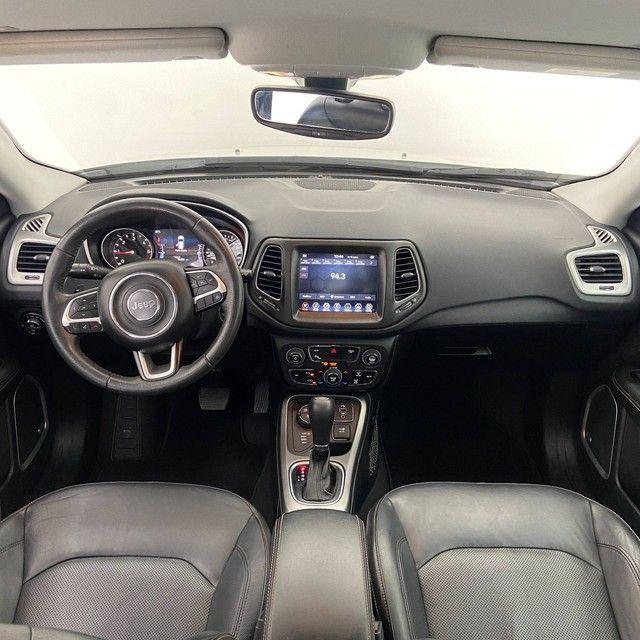 COMPASS 2018/2019 2.0 16V DIESEL LONGITUDE 4X4 AUTOMÁTICO - Foto 10