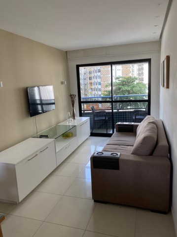 Alugo apt com 2 quartos completamente mobiliado no coração de boa viagem R$:3.500 - Foto 9