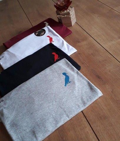 Camisas Fio 30.1 premium com elastano  - Foto 2