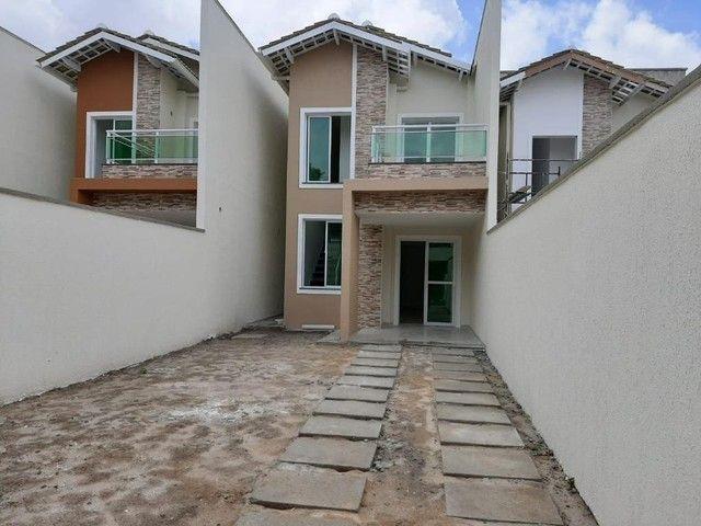 Casa com 3 dormitórios à venda, 128 m² por R$ 317.000,00 - Centro - Eusébio/CE