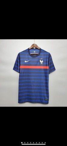 Camisetas Seleção da França  - Foto 4