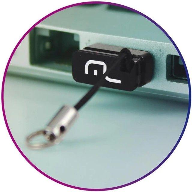 Pendrive Multilaser Nano PD053 8GB 2.0 preto - Foto 3