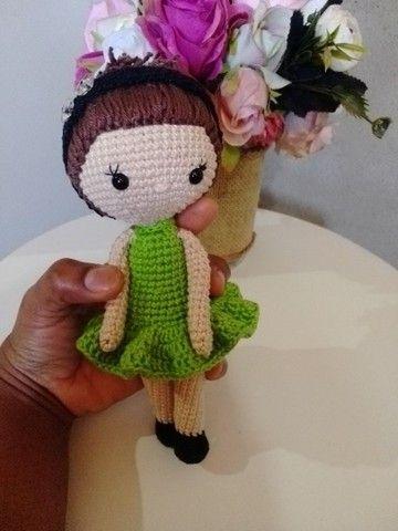 Bonecas em crochê (amigurumi). - Foto 4