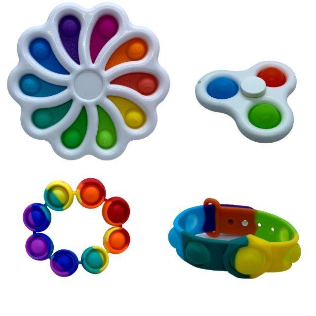 Brinquedo Pop It Fidget Toy Anti Stress Sensorial Diversos Modelos - Foto 5