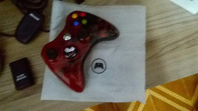 Controle Xbox 360 Edicao Gears + receiver+PlayCharge