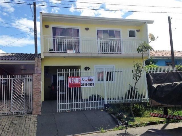 Sobrado residencial à venda, Ganchinho, Curitiba.