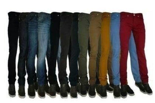 Calças Sarja Multimarcas Modelos Skinny no Atacado - Foto 3